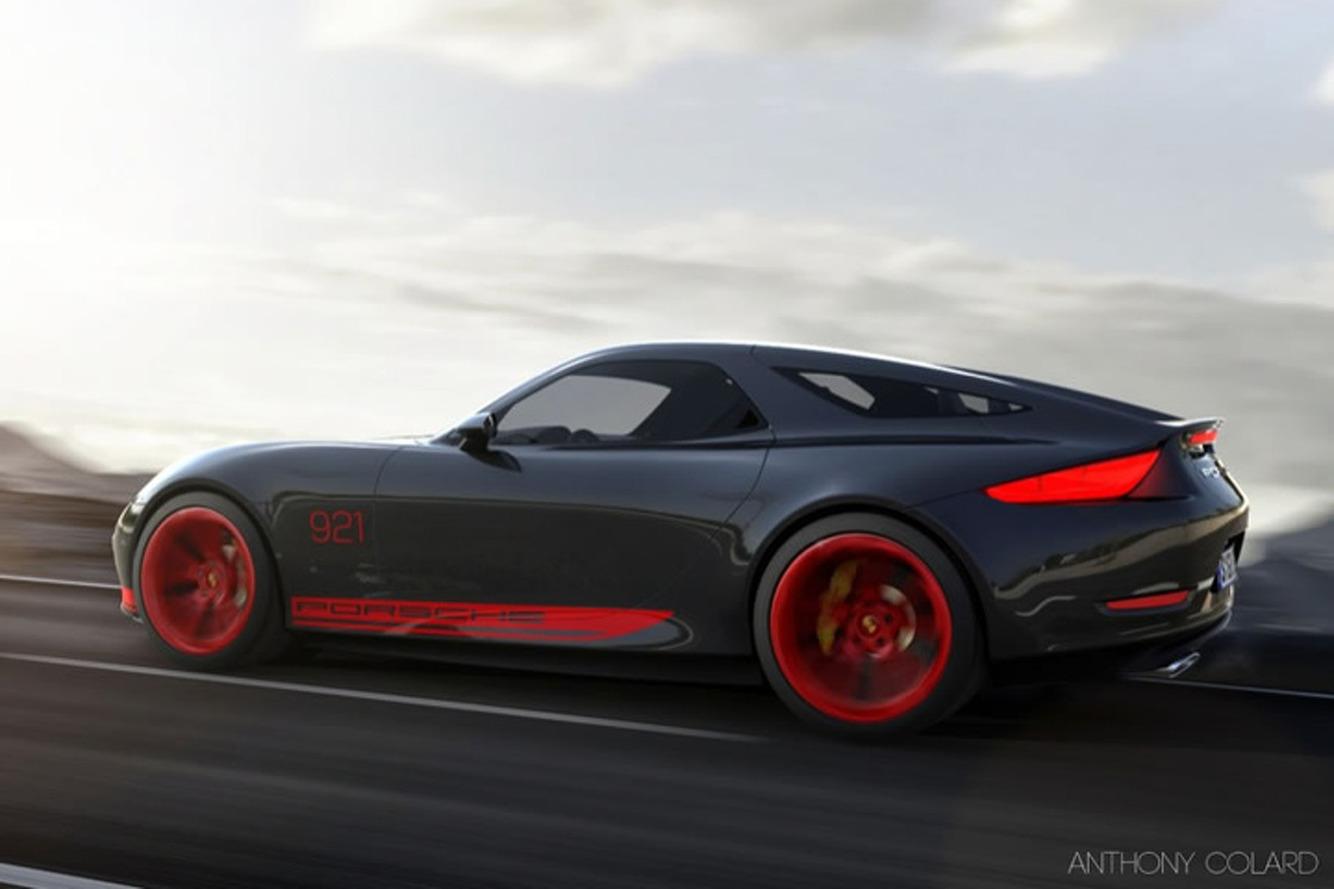 Porsche 921 Vision Is A Reimagined Front-Engine Porsche