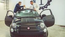 Fiat 500C Garage Italia Customs