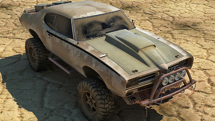This Pontiac GTO Looks Like Something Straight Out of 'Mad Max'