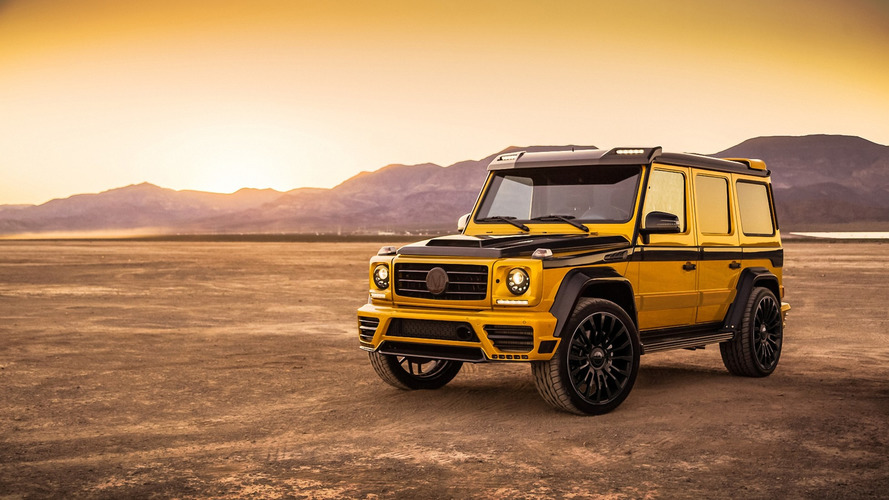 Mansory muscles up Mercedes G-Class with wide body kit and 840 hp