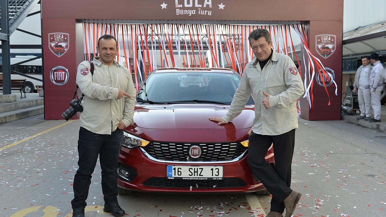 Driving a turkish made fiat around the world