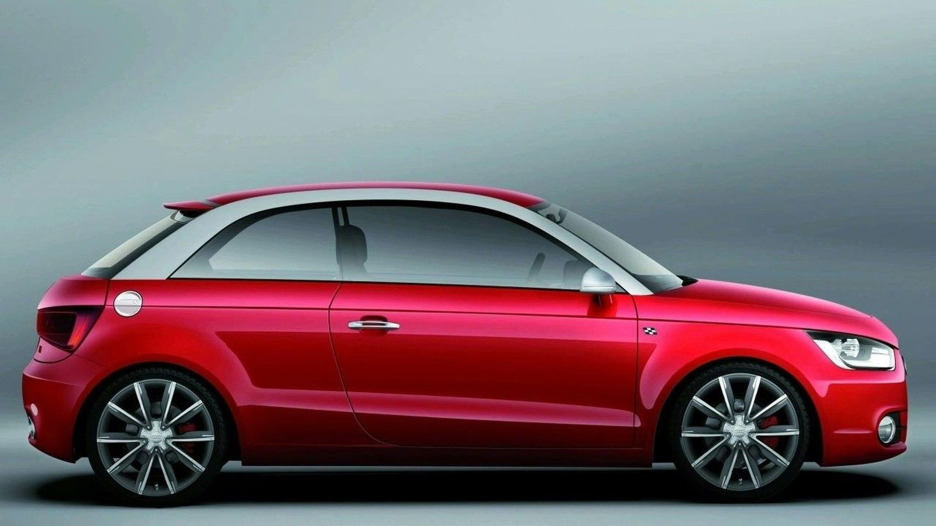 Audi A1 Four-door in Paris?