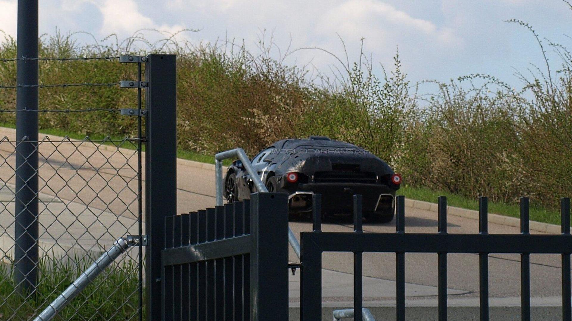 Ferrari Enzo successor spy video