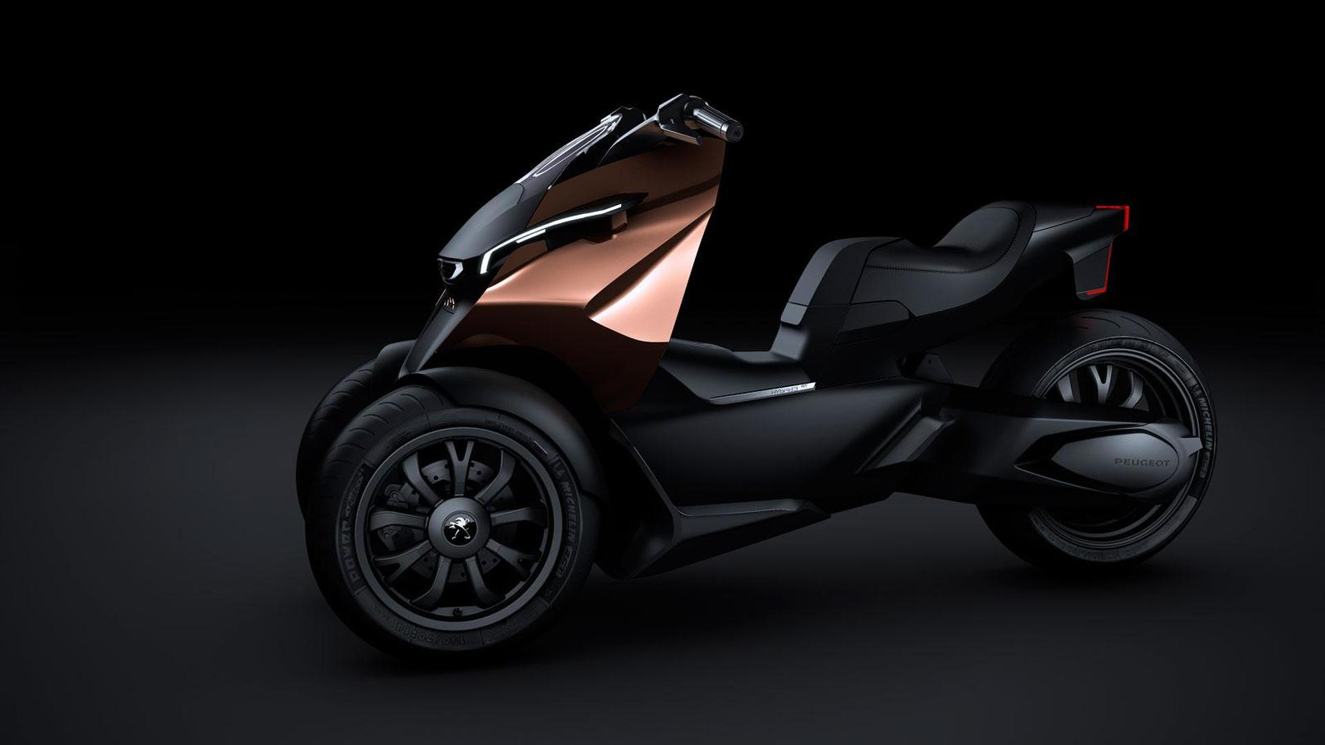 Peugeot Onyx Concept Scooter to debut in Paris
