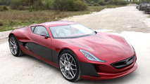 Rimac Concept One in Monaco