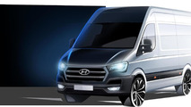 Hyundai H350 cargo van teased ahead of September 24 full reveal
