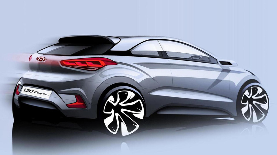 Hyundai teases sleeker i20 Coupe ahead of spring 2015 launch