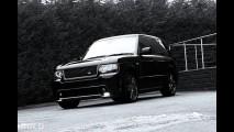 A. Kahn Design Range Rover Harris Tweed Edition