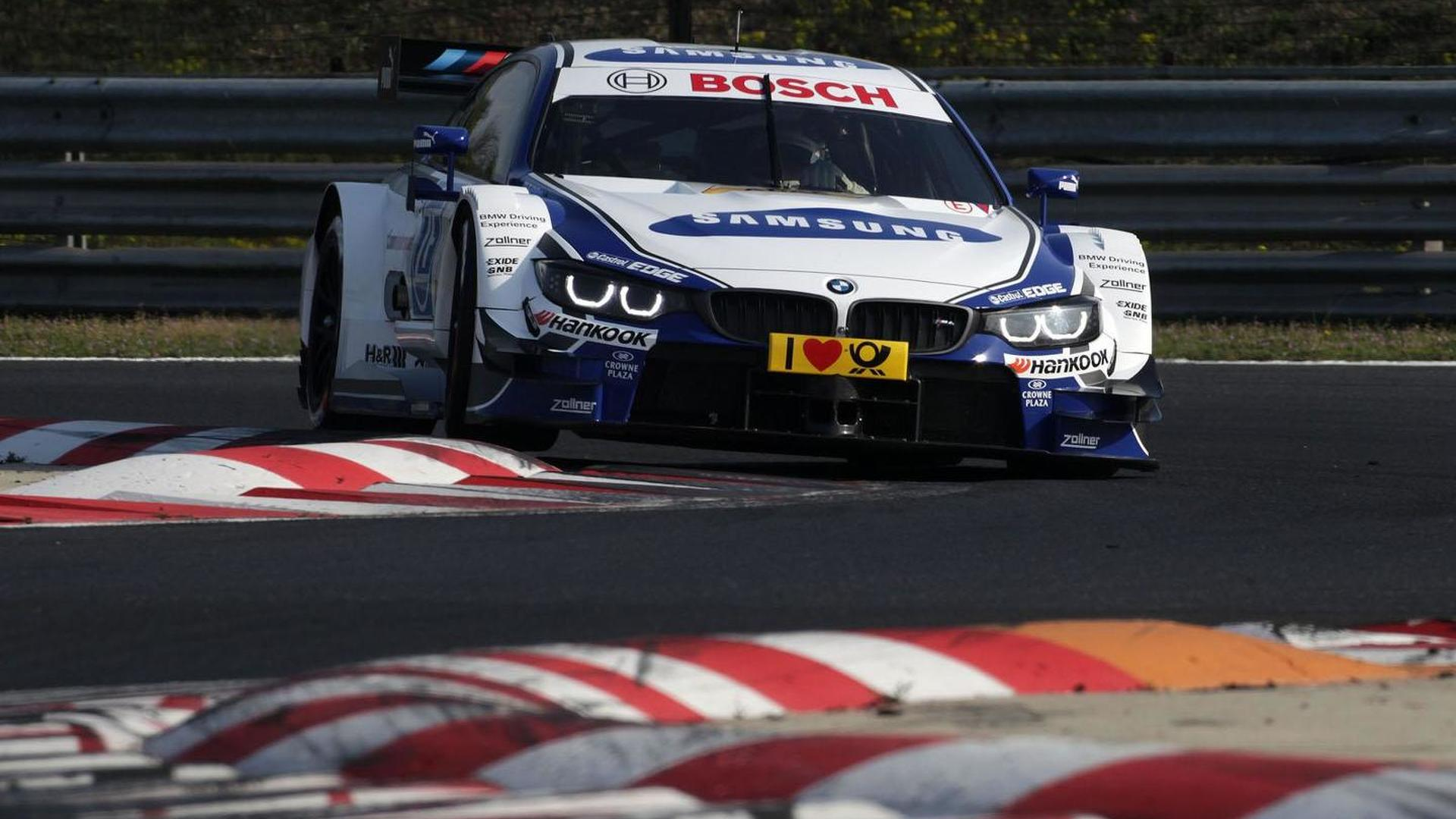 BMW shows off four new liveries for the M4 DTM