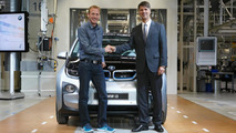 2014 BMW i3 production begins in Leipzig 19.09.2013