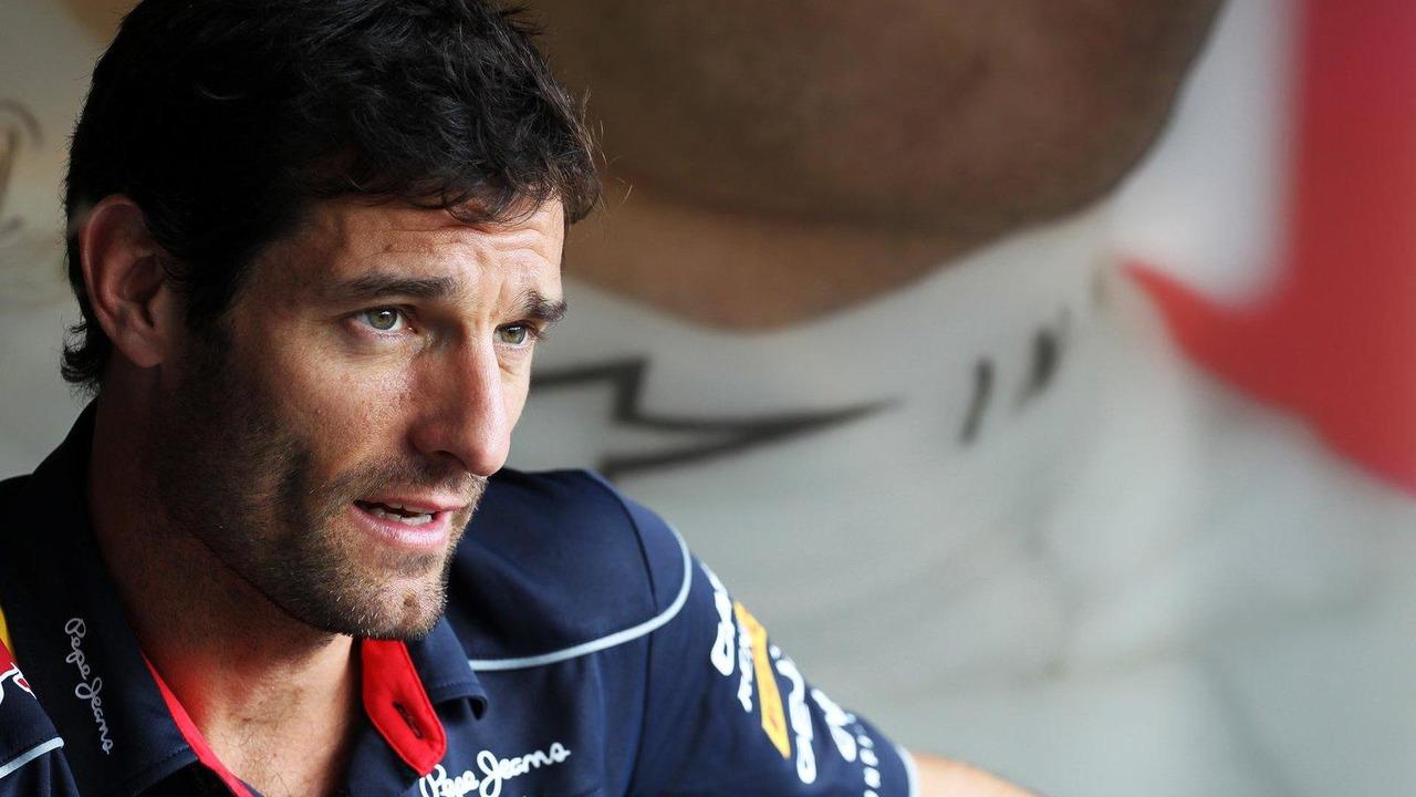 Mark Webber 25.07.2013 Hungarian Grand Prix