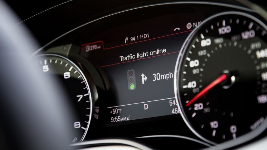Audi Online traffic light information promises to help drivers catch green lights