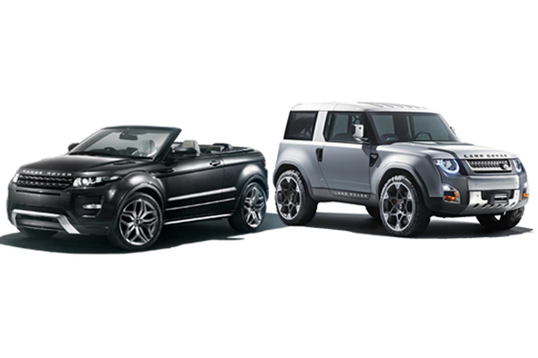 Future Rides: Land Rover Evoque Convertible and DC100