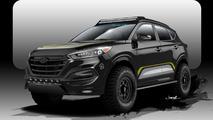 Hyundai teases a rugged Tucson for SEMA