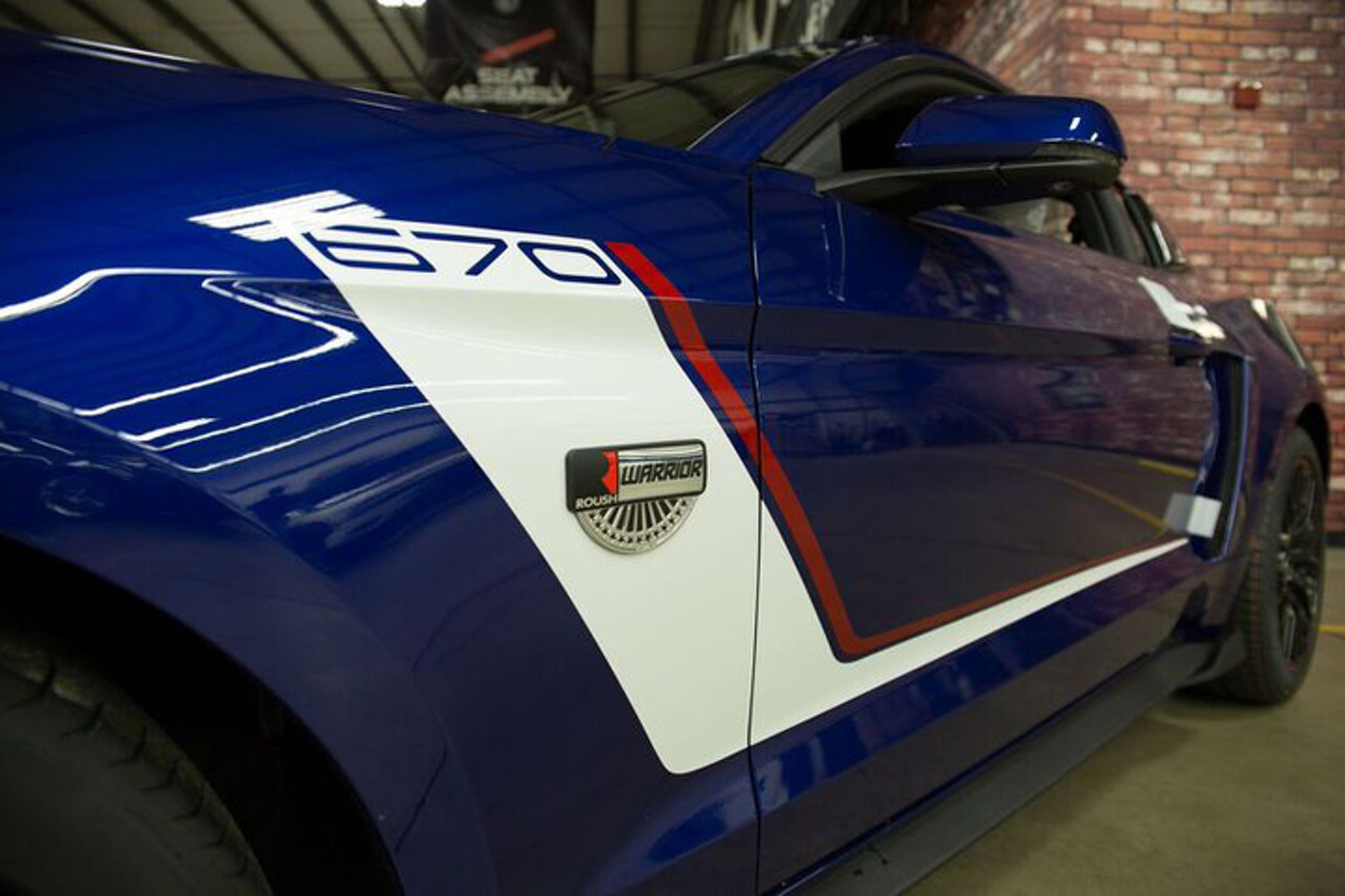 """Roush is Bringing Back the Ford Mustang """"Warrior"""" for 2016"""