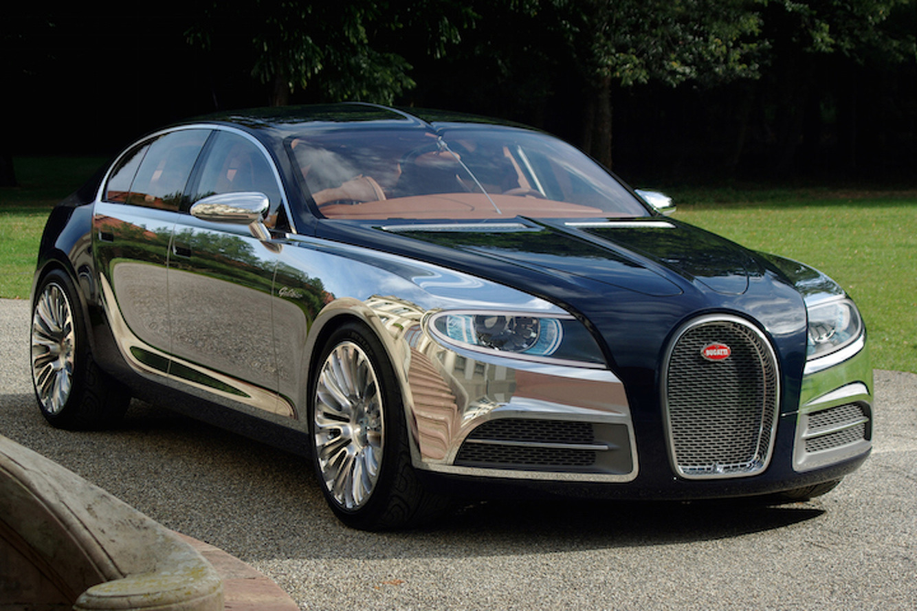 Sorry One Percenters, Bugatti Won't Build You An SUV