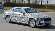Mercedes C-Class Cabrio spy photo