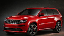 Jeep Grand Cherokee SRT Red Vapor Limited Edition