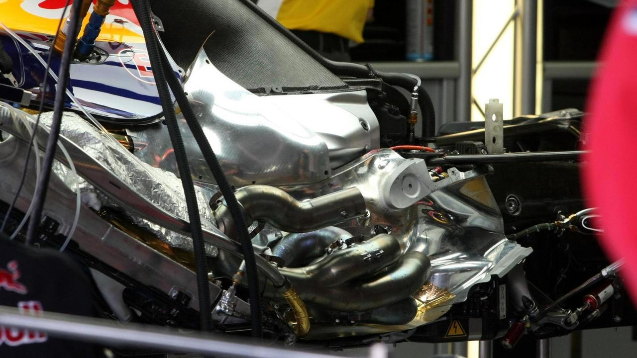 Red Bull Renault engine detail / XPB