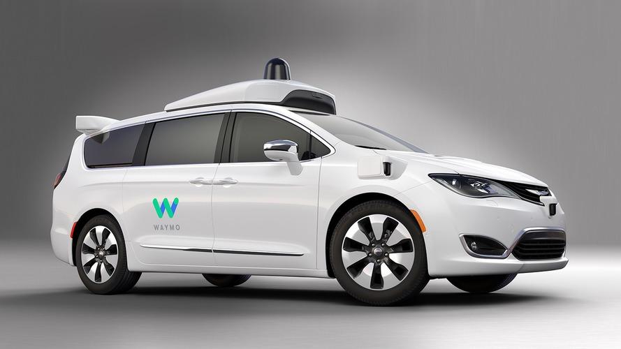 Google reveals fully autonomous Waymo based on Chrysler Pacifica Hybrid