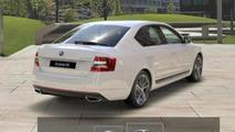 2013 Skoda Octavia RS leaked