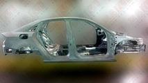 Audi A3 Sedan unibody structure