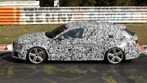 New Audi RS6 Avant first spy photos at Nurburgring 17.04.2012