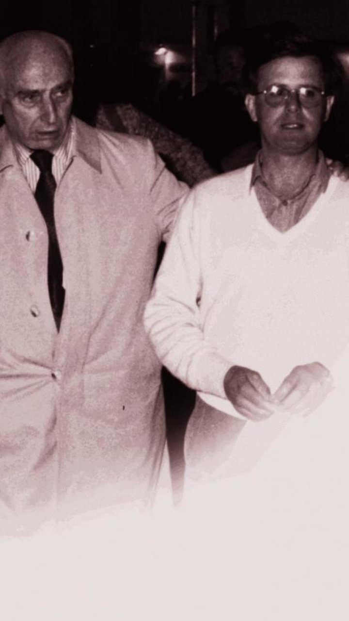 Horacio Pagani with Juan Manuel Fangio circa 1992, 09.05.2012