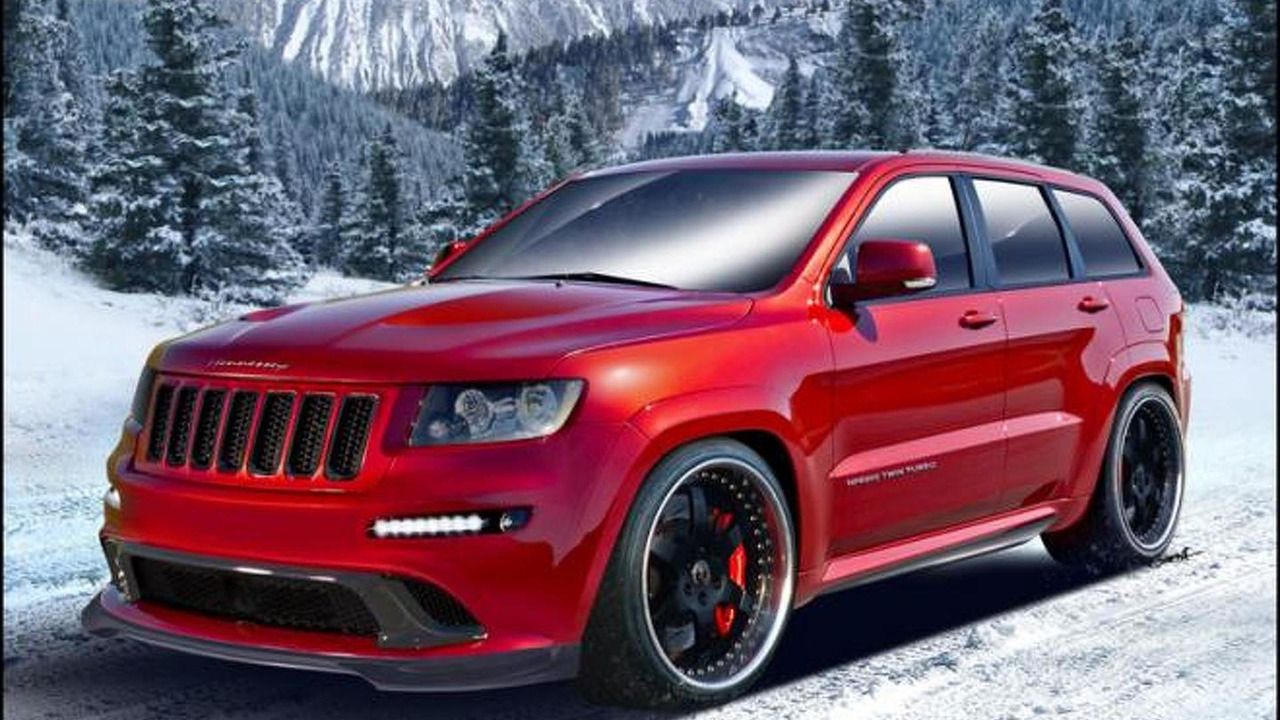 2013 HPE800 Twin Turbo Jeep by Hennessey Performance, 800, 20.12.2011