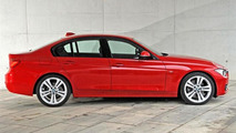 2012 BMW 3-series Long Wheelbase (335Li) spy photo