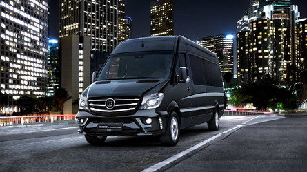 Brabus VIP Conference Lounge is like a Maybach Sprinter for $252k