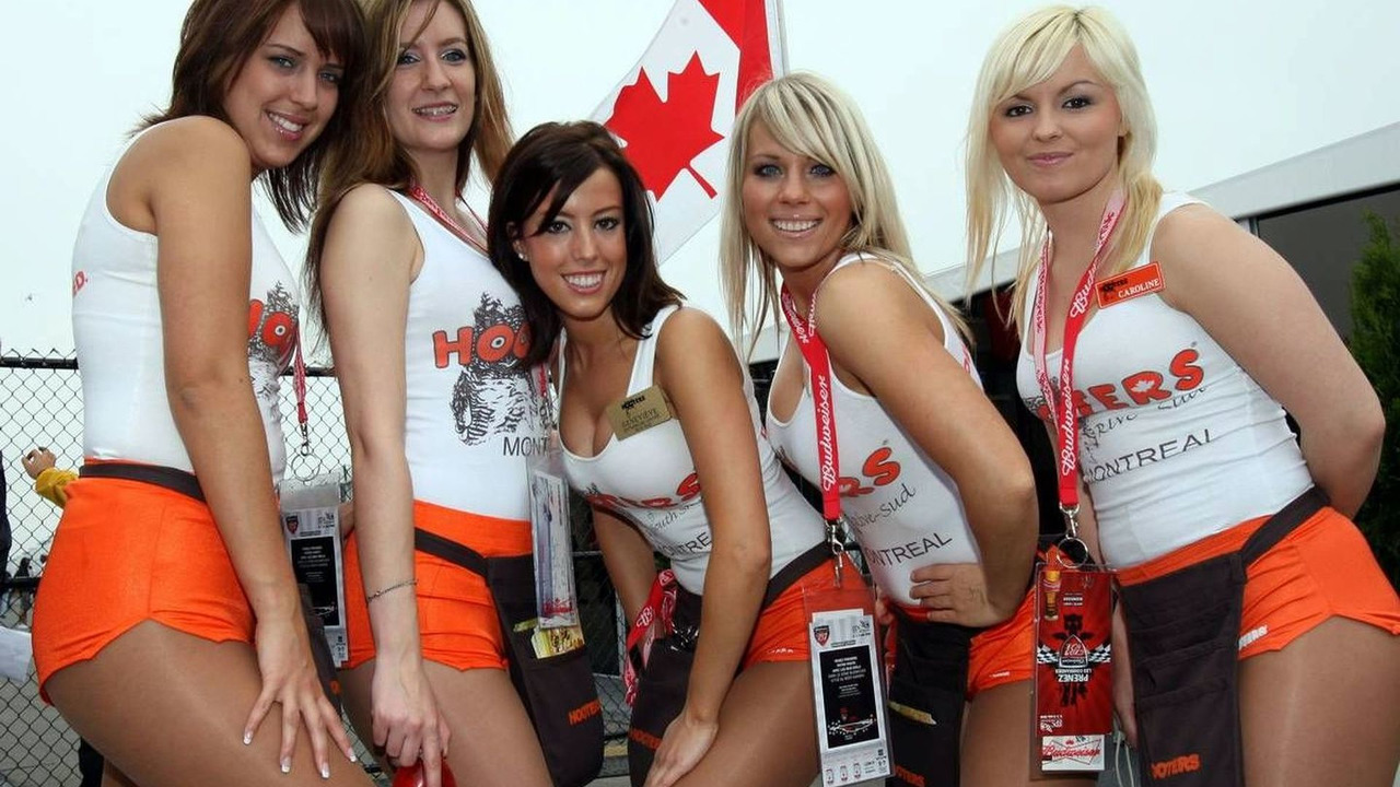 06.06.2008 Montreal, Canada, Girls in the paddock, Canadian Grand Prix