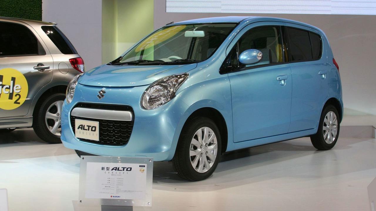 Suzuki Alto Concept live in Tokyo