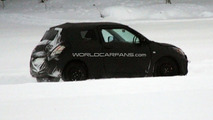 2011 Suzuki Swift 3-Door first spy photos, Sweden, 22.01.2010