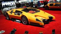Sbarro Autobau concept live in Geneva 03.03.2010