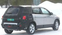 Nissan Qashqai Long Wheelbase Spotted Testing