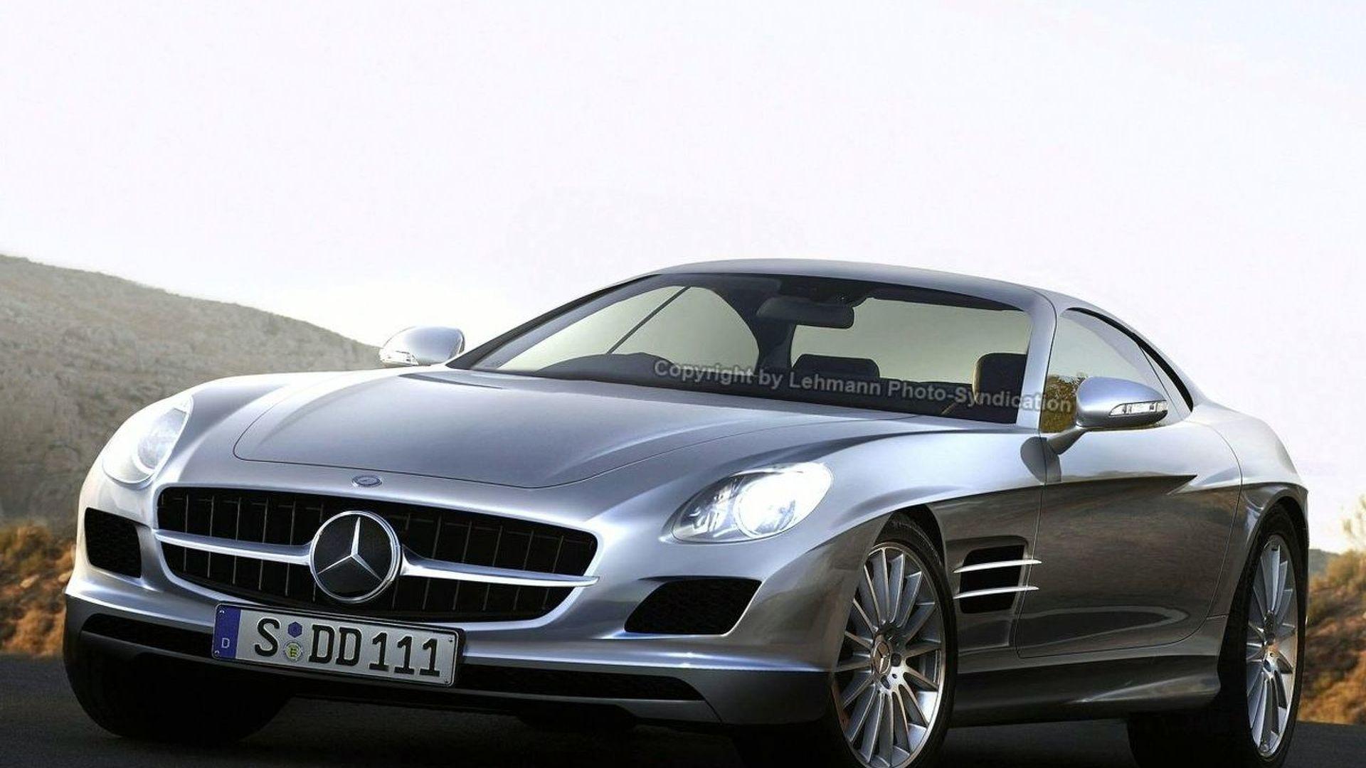 More Mercedes SLC Prototype Spied