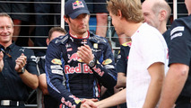 Vettel admits tense relationship with Webber