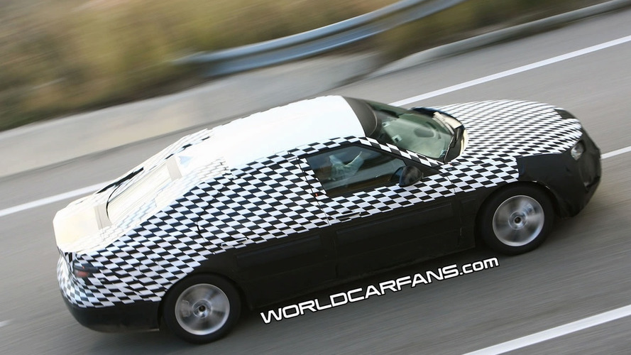 Saab 9-5 Prototype Caught for First Time