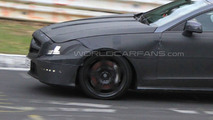 2011 Mercedes-Benz CLS AMG Burns Rubber on Nurburgring [video]