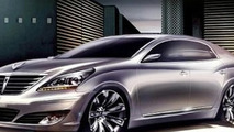 2010 Hyundai Equus Renderings Emerge