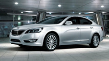 Kia Cadenza aka VG sedan Initial Images and Details Released