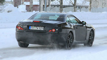 2013 Mercedes-Benz SL-Class Prototype Caught Testing Near Arctic Circle