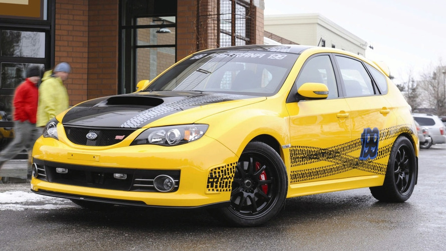 Rally Champ Travis Pastrana Gets Custom Subaru Impreza WRX STI