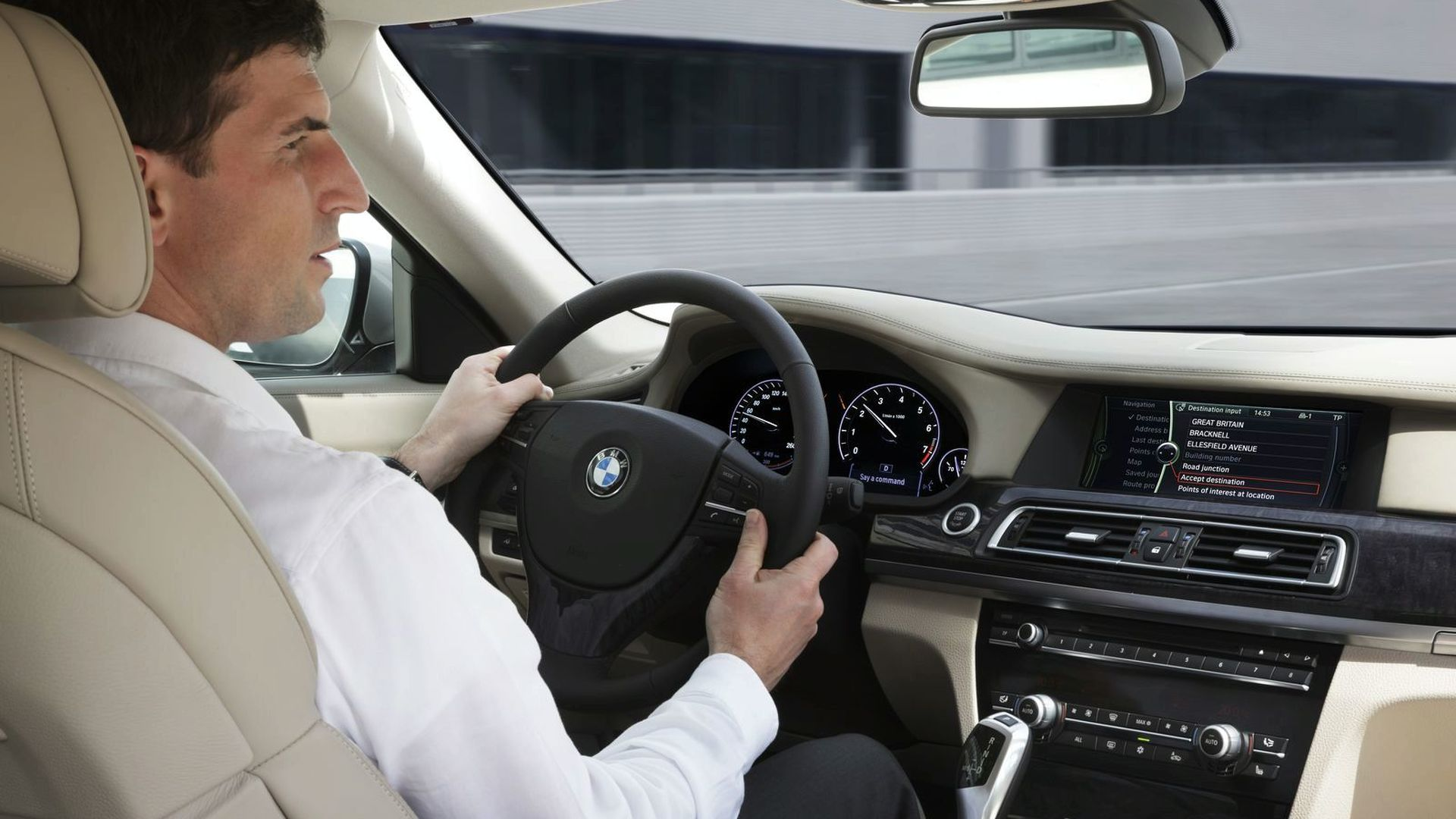 New BMW Voice Control System