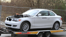 BMW 1 series Coupe Active-E spied 09.12.2010