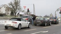 2012 Mercedes Benz SL spied 14.12.2010