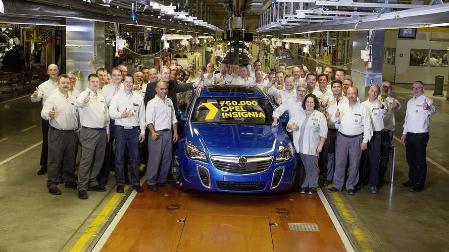 Opel builds 750,000th Insignia, confirms new Buick variant