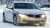 2016 BMW 3-Series Plug-in Hybrid spied