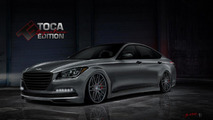 Hyundai Genesis gets a twin-turbo V8 for SEMA